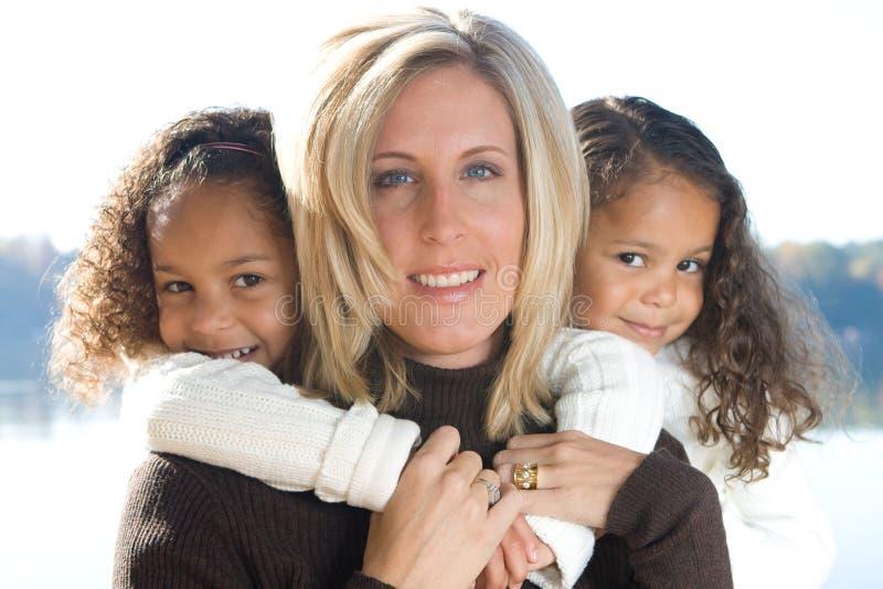 Matriz e suas filhas foto de stock royalty free