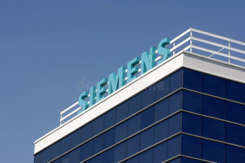 Matrizes de Siemens em Bucareste fotos de stock royalty free