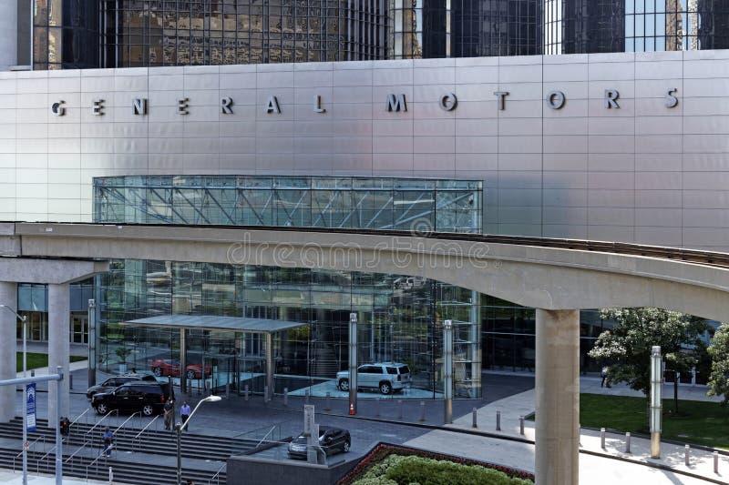 Matrizes do mundo de General Motors foto de stock