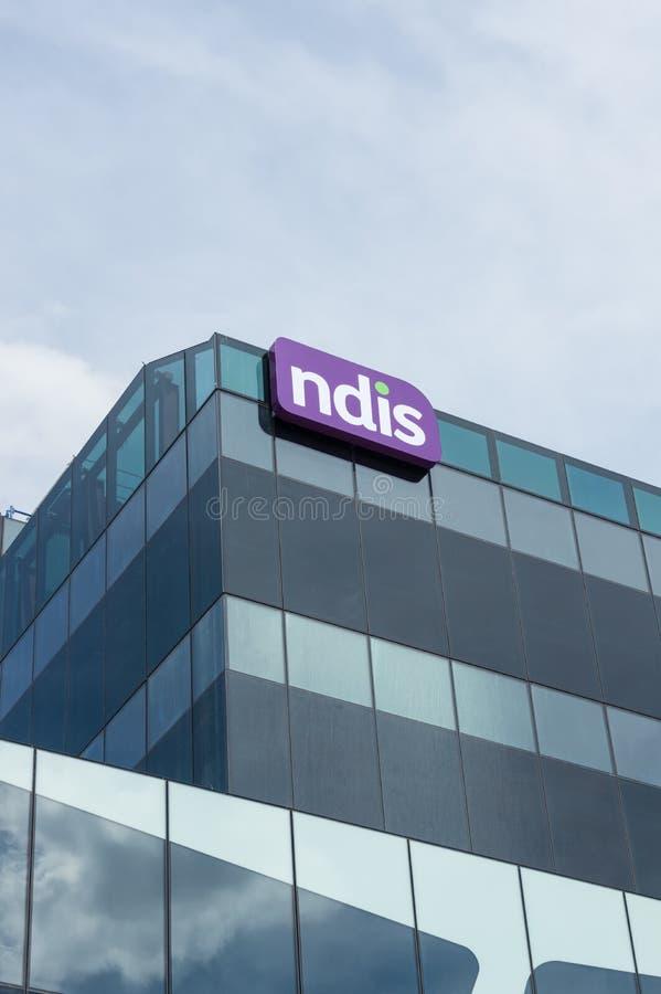 Matrizes nacionais da agência do seguro de invalidez em Geelong, Austrália foto de stock