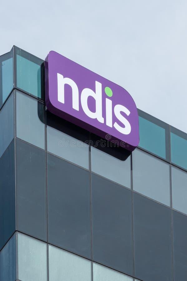Matrizes nacionais da agência do seguro de invalidez em Geelong, Austrália fotografia de stock
