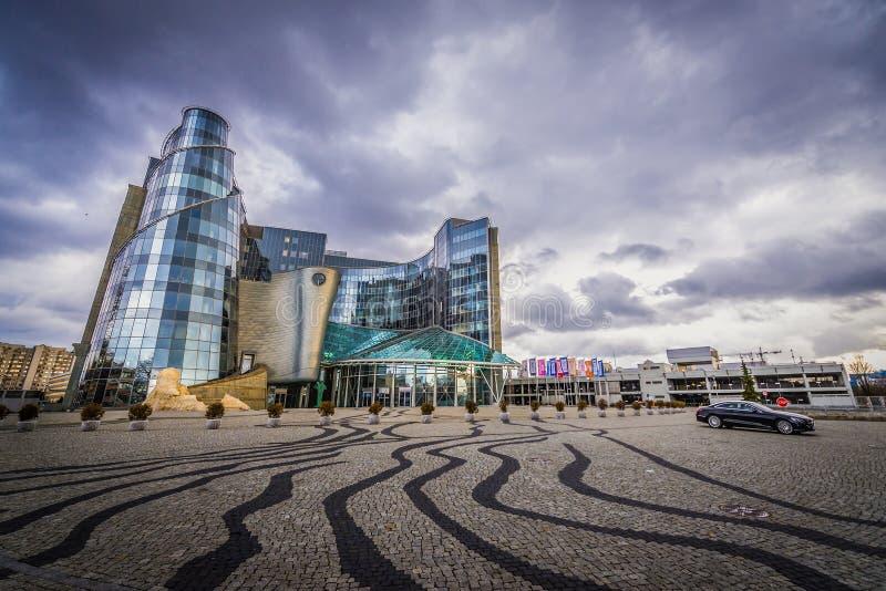 Matrizes polonesas da televisão imagem de stock royalty free