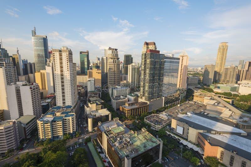 Matro Manila, ciudad de Makati fotos de archivo