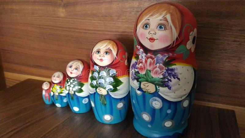 Matrushka do russo foto de stock