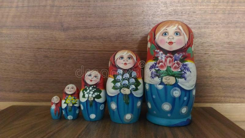 Matrushka do russo fotos de stock