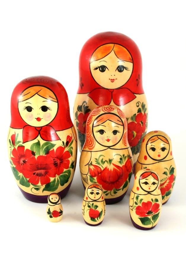Matrushka Puppen lizenzfreie stockfotografie