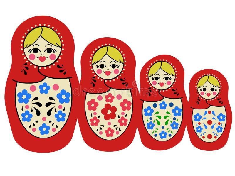 Matryoshka libre illustration