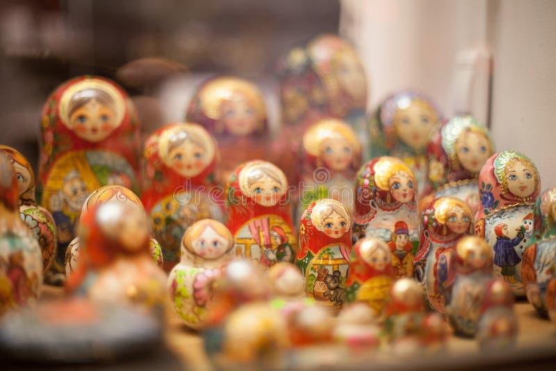 Matryoshka dolls stock image