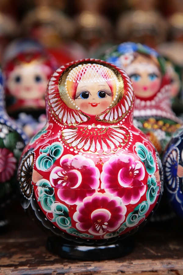 Matryoshka russe photos stock
