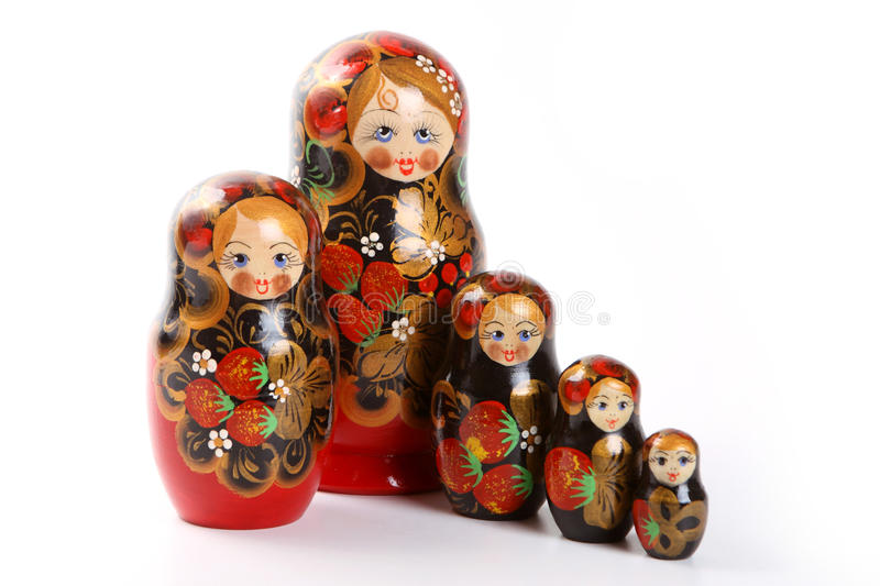 Download Matryoshka - Russian Nested Dolls Stock Photo - Image: 12882256
