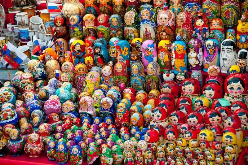 Matryoshkas imágenes de archivo libres de regalías