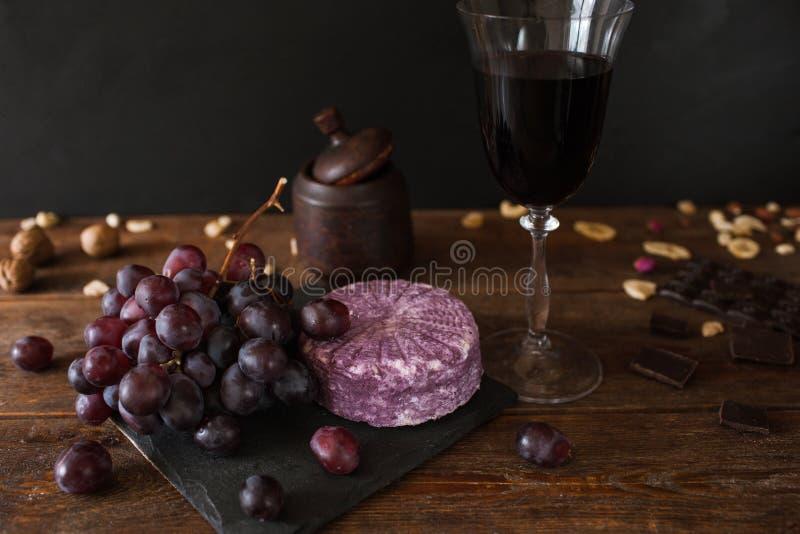 Matsammansättning av gourmet- produkter arkivfoton