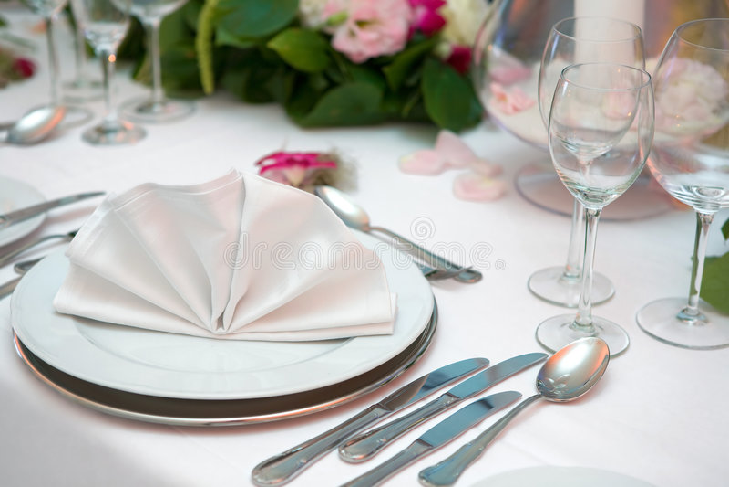 matställebröllop royaltyfria bilder