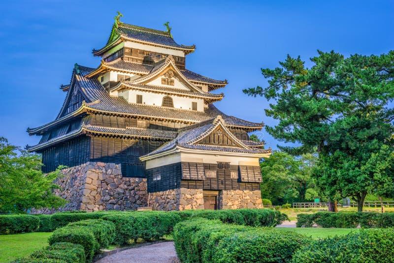 Matsue Castle Japan royaltyfria foton