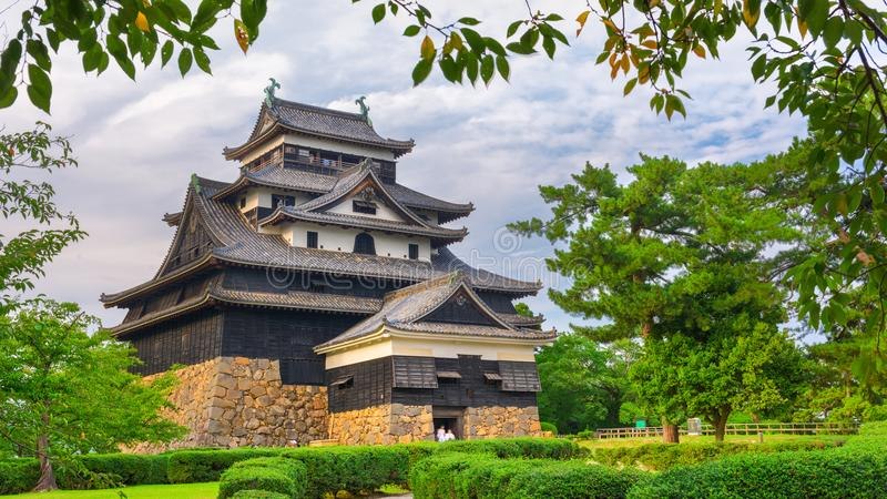Matsue kasztel, Japonia obrazy royalty free