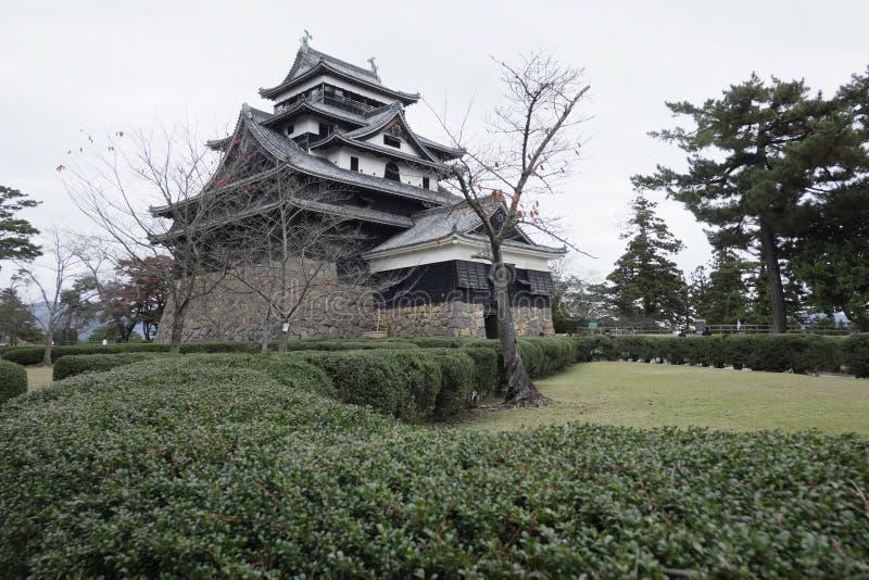 Matsue-Schloss des nationalen Schatzes in der Präfektur Shimane lizenzfreie stockbilder