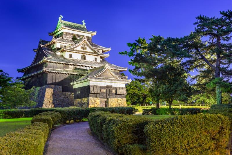 Matsue slott royaltyfri bild