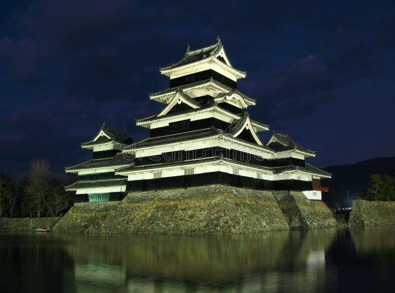 Matsumoto Castle 08, Night, Japan Royalty Free Stock Image