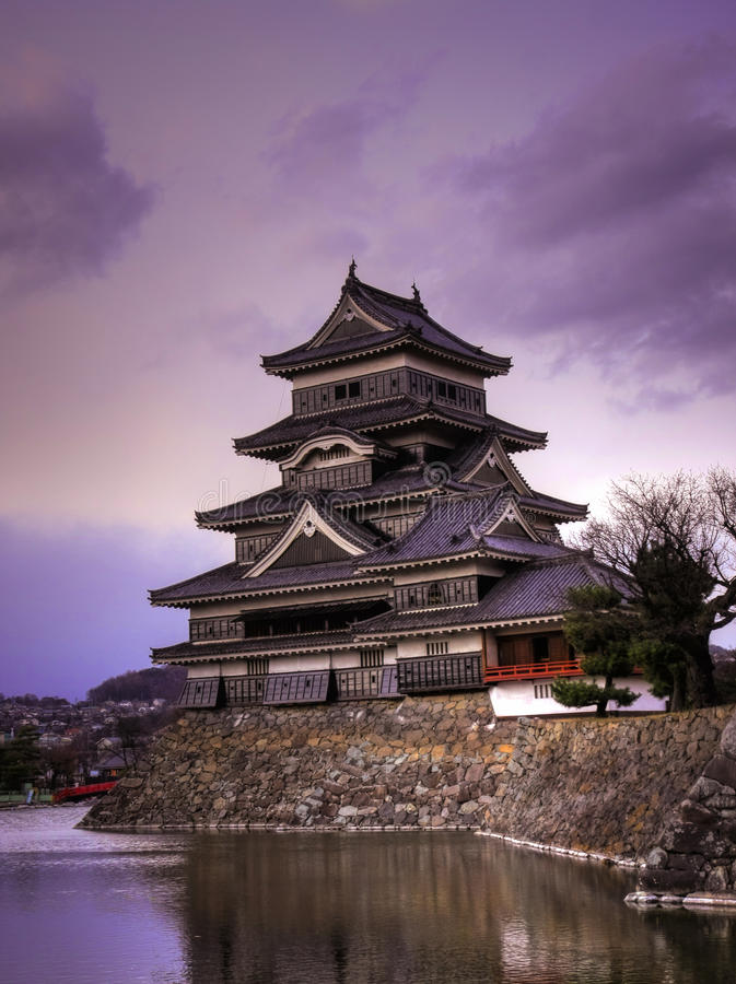 Matsumoto Castle, Japan royalty free stock photography