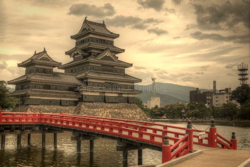 Matsumoto Castle In Matsumoto, Japan Stock Images
