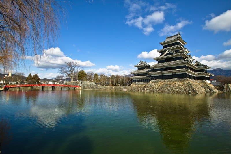 Matsumoto kasteel-1 royalty-vrije stock foto's