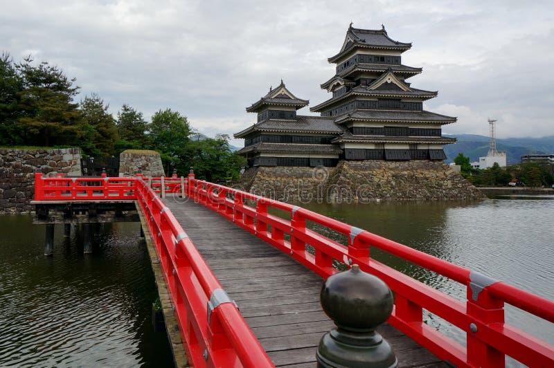 Matsumoto kasztel w Matsumoto, Japonia zdjęcie royalty free