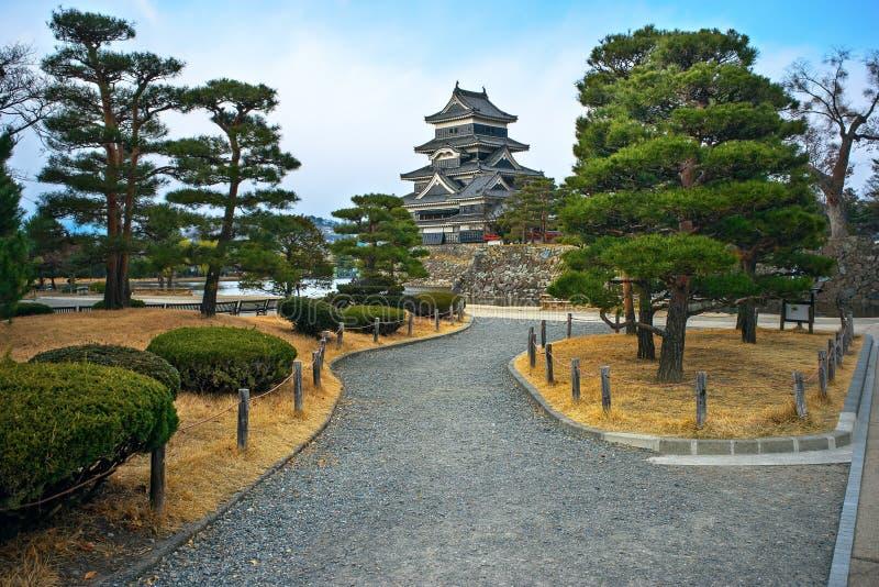 Matsumoto-Schloss, Japan lizenzfreies stockfoto