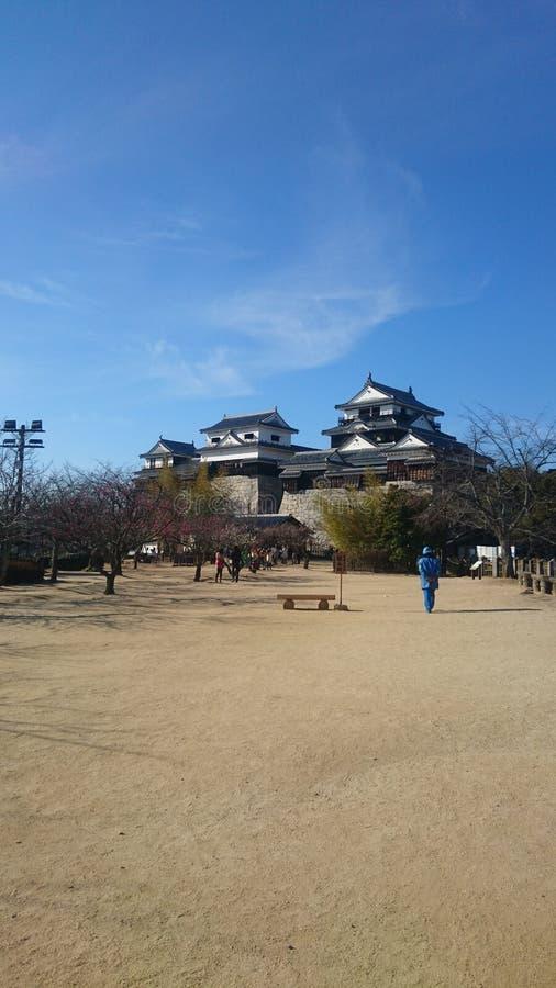 Matsuyama castle royalty free stock photos