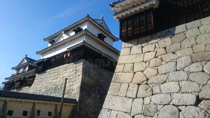 Matsuyama castle stock photography