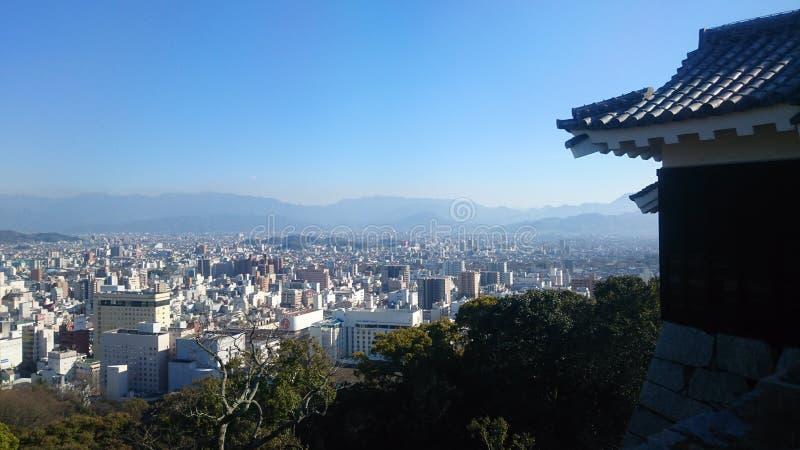 Matsuyama kasztel zdjęcie royalty free