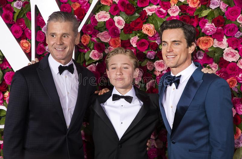 Matt Bomer bij 2018 Tony Awards royalty-vrije stock fotografie