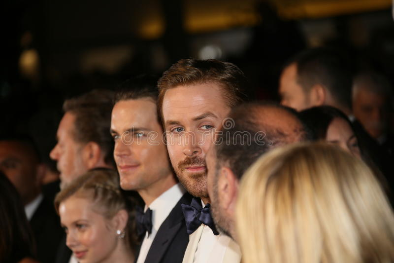 Matt Bomer Ryan Gosling royaltyfria bilder