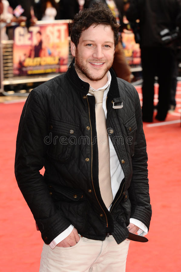 matt cardle royaltyfria foton