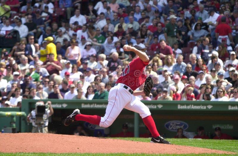 Matt Clement Boston Red Sox arkivfoton