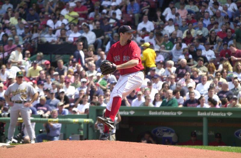 Matt Clement Boston Red Sox royaltyfri foto