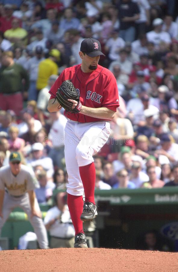 Matt Clement Boston Red Sox royaltyfri bild
