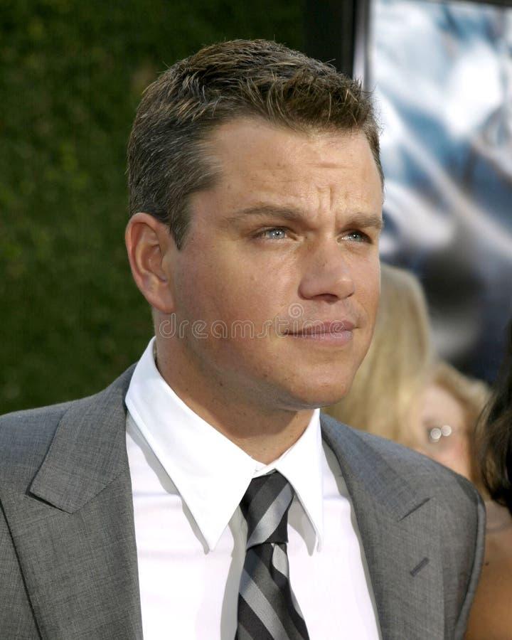 Matt Damon royalty-vrije stock foto