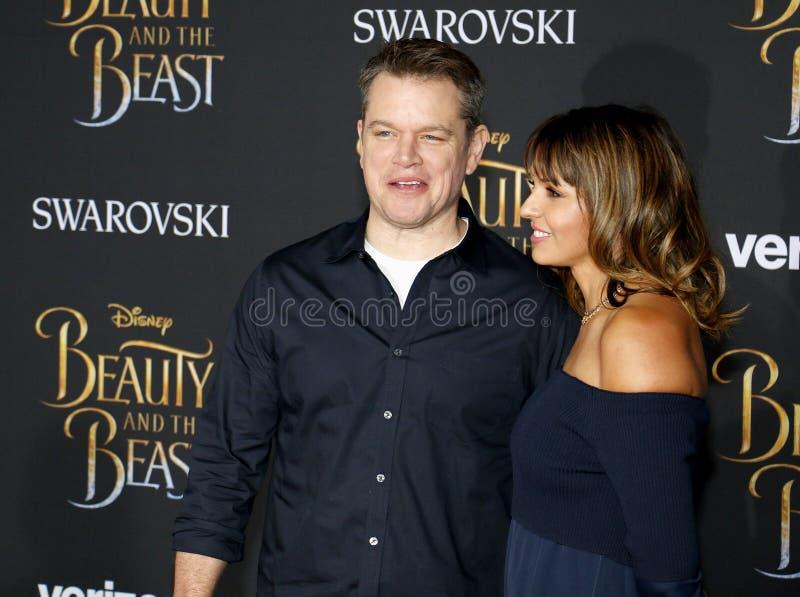 Download Matt Damon Et Luciana Barroso Image éditorial - Image du cinéma, bête: 87708495