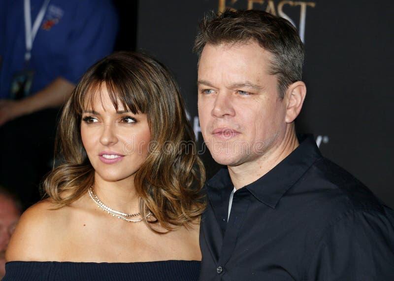 Download Matt Damon Et Luciana Barroso Photographie éditorial - Image du célébrité, hollywood: 87708547