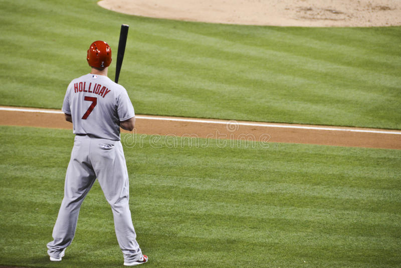 Matt Holliday imagem de stock