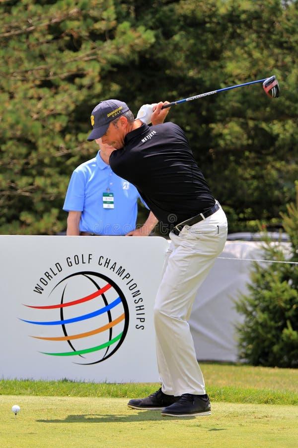Matt Kuchar PGA pro-golfare royaltyfri bild