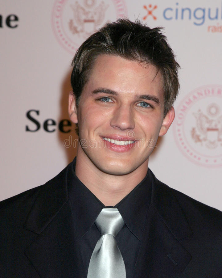 Matt Lanter. Commander-in-Chief Inagural Ball Regent Beverly Wilshire Hotel Los Angeles, CA September 21, 2005 royalty free stock images
