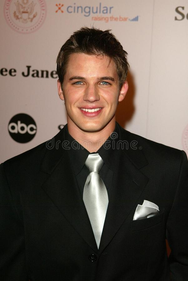 Matt Lanter. At the 'Commander in Chief' Inaugural Ball and Premiere Screening. Regent Beverly Wilshire, Beverly Hills, CA 09-21-05 royalty free stock image
