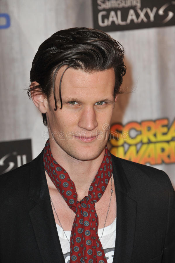 Matt Smith foto de stock