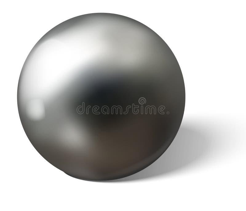 Matt Chrome Style Stock Vector. Illustration Of Platinum