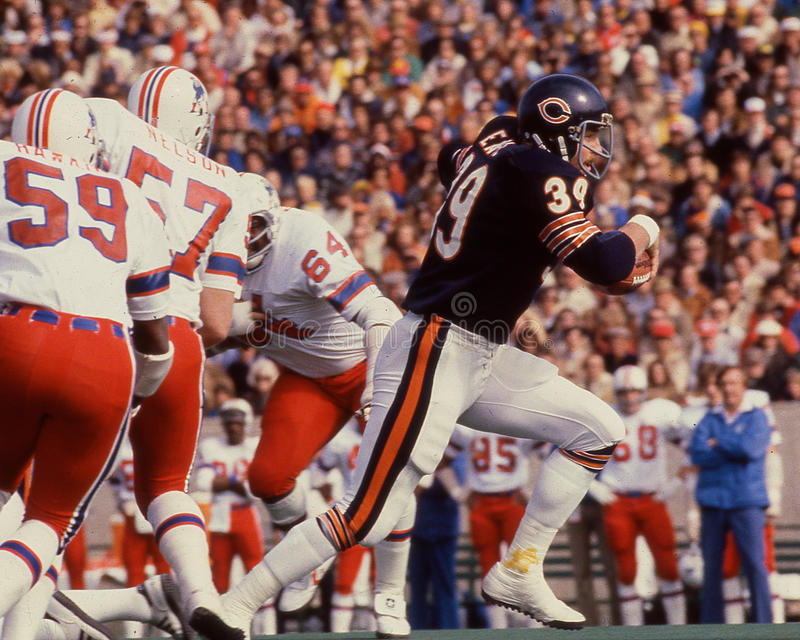 Matt Suhey Chicago Bears arkivbilder