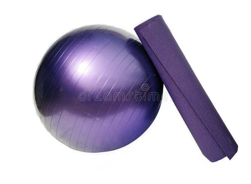 matt yoga för boll