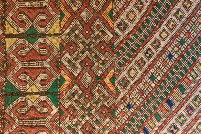Matta från orientalisk design för Marocko modelldetalj royaltyfri fotografi