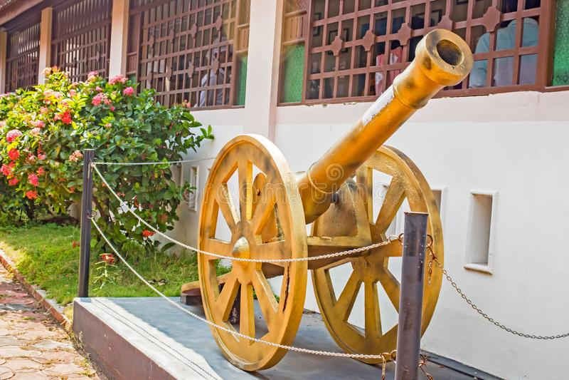 Old war equipment stock image