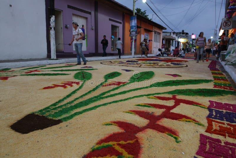 Matten en godsdienst in Mexico royalty-vrije stock afbeelding